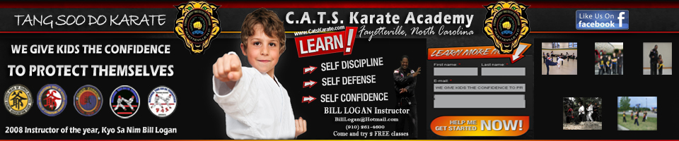 "CATS Karate Academy - CATS Karate Club were Kids love our program! ""Learn Self Defense and Build Self Confidence!"